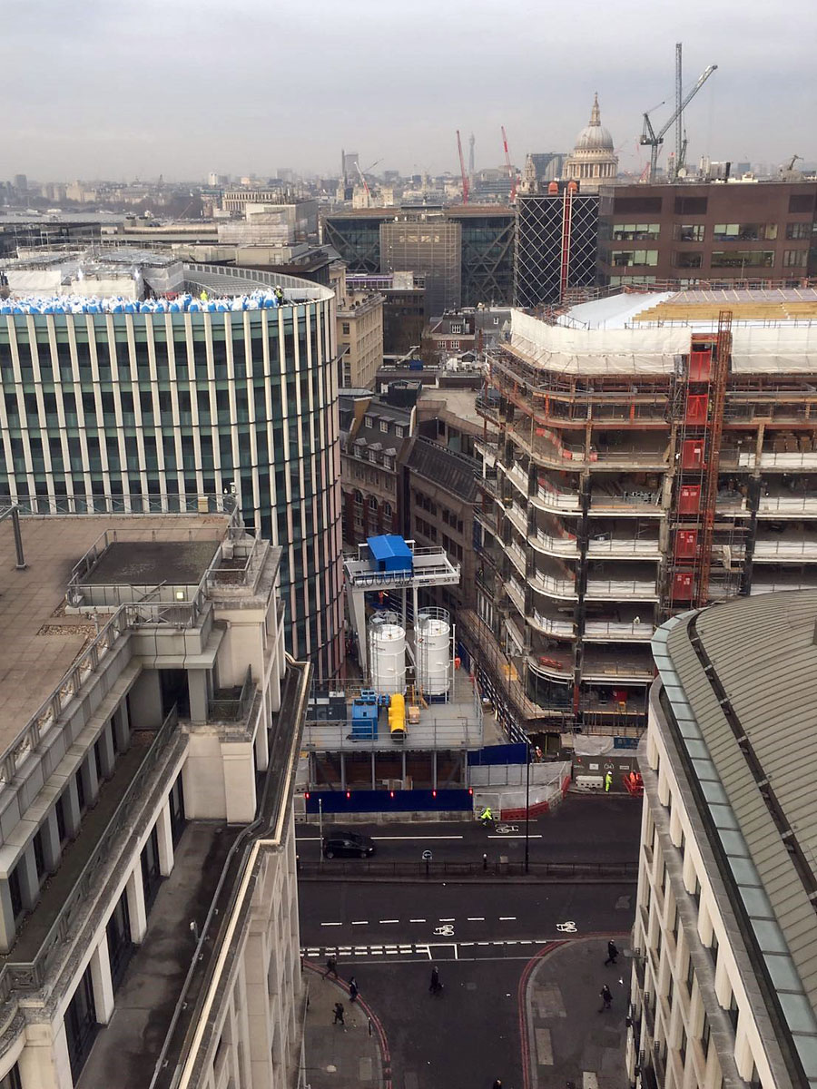 Bank station capacity upgrade (BSCU) Project. London
