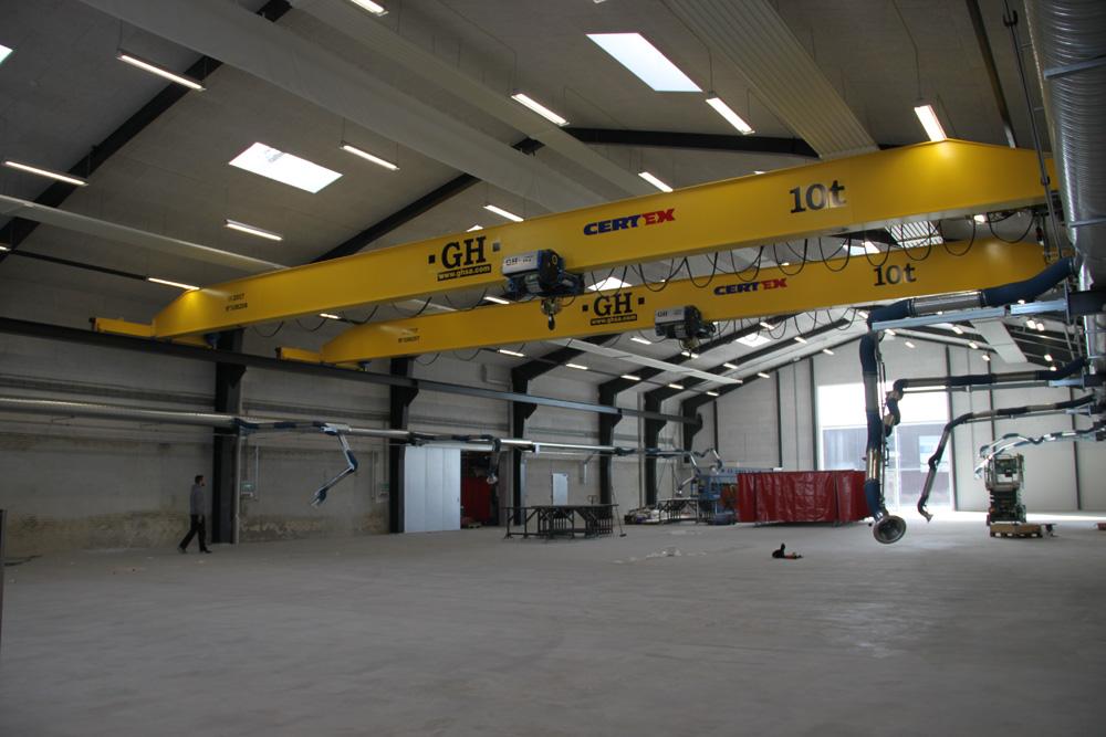 EOT Cranes for EMS ApS, CertexDk in Denmark