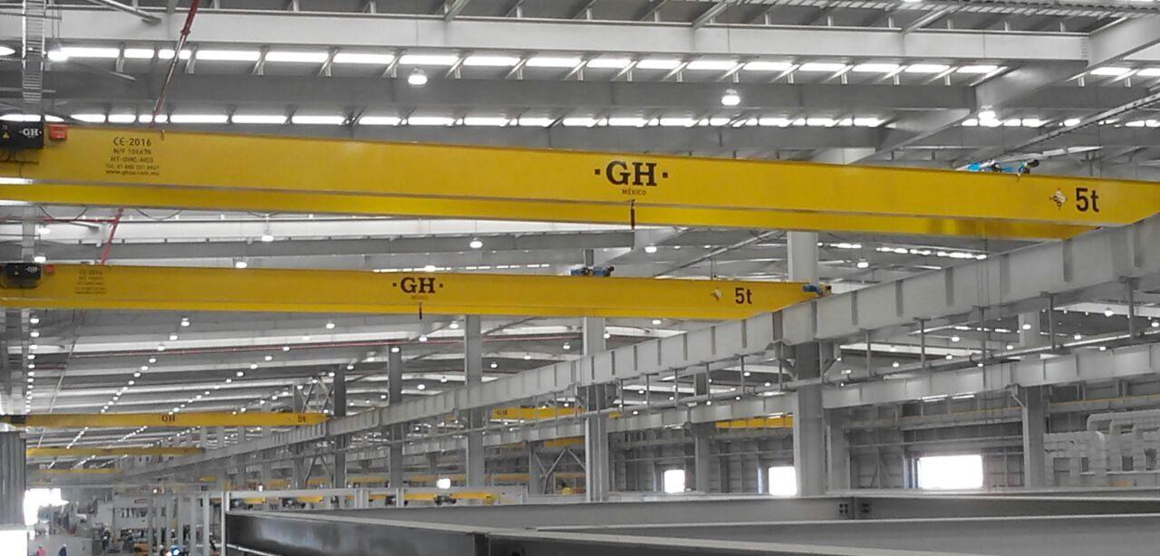 Grúas GH México, una de nuestras filiales con más historia