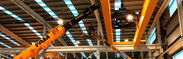 Puente grúa para empresa puntera a nivel mundial en el sector de la tubería especial