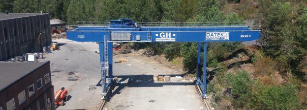 Datek Løfteteknikk har levert GH gantrykran til Contiga