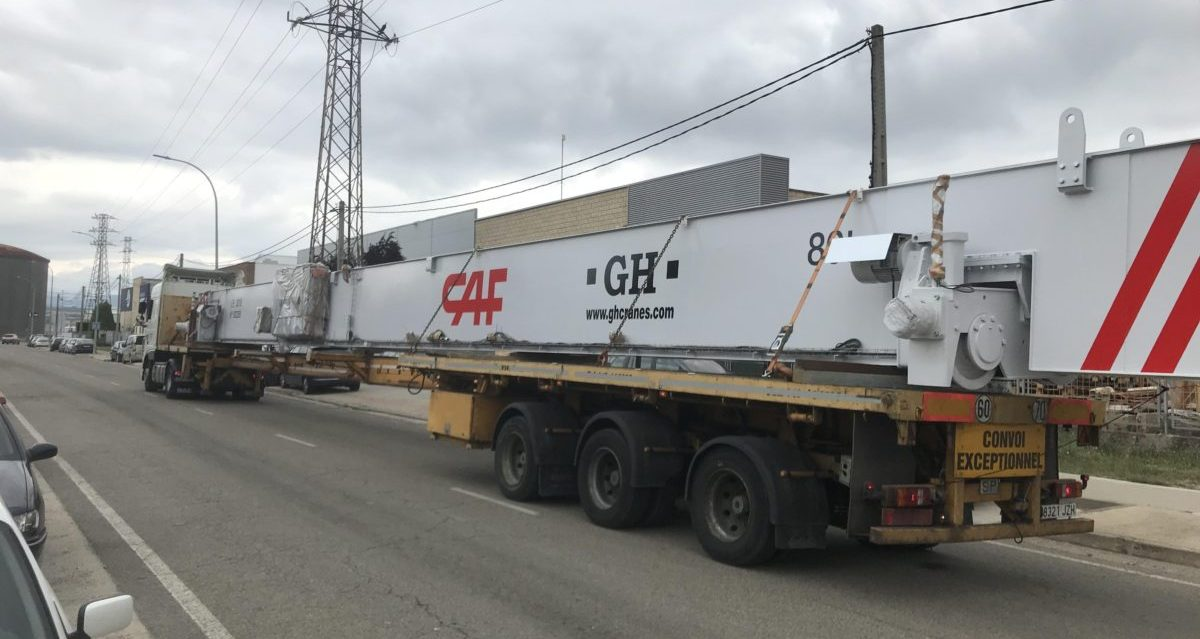 A global reference in solutions for lifting and moving load in the railway sector - CAF