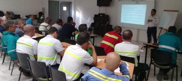 Curso de capacitación para operadores de grúas para la empresa Papelsa