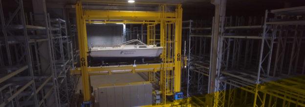 Marina seca GH Cranes almacenaje de embarcaciones