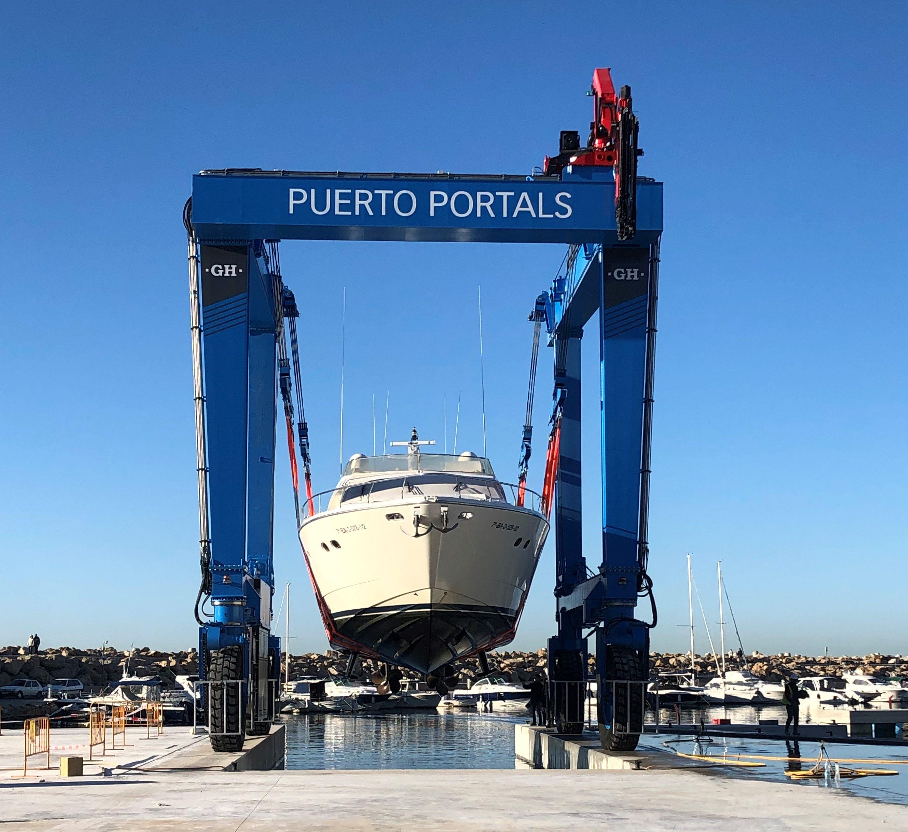 Pórtico automotor GH165 Puerto Portals