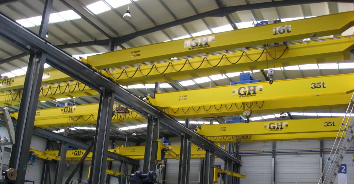 grúa puente birraíl GH Cranes