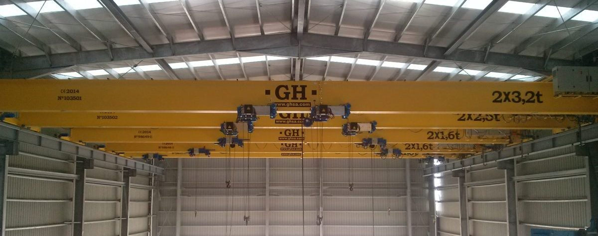 grúa puente monorrail GH Cranes