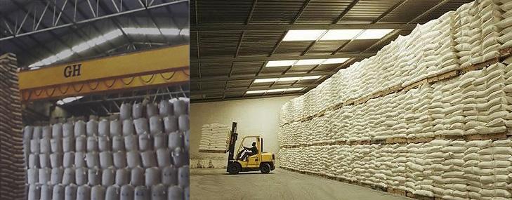 GH pontes rolantes desenvolve tecnologia para aumentar a produtividade no armazém de açúcar