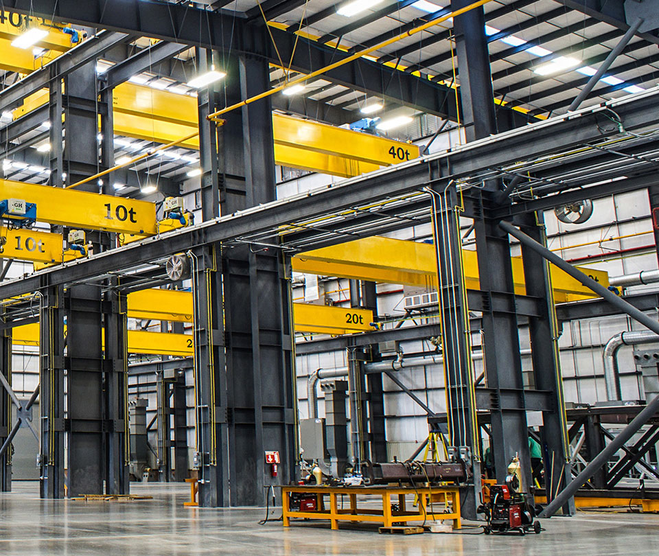Overhead Cranes With Hoists
