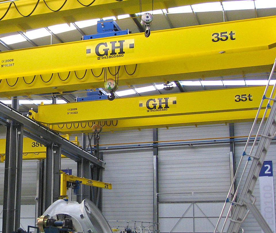 Double Overhead Cranes