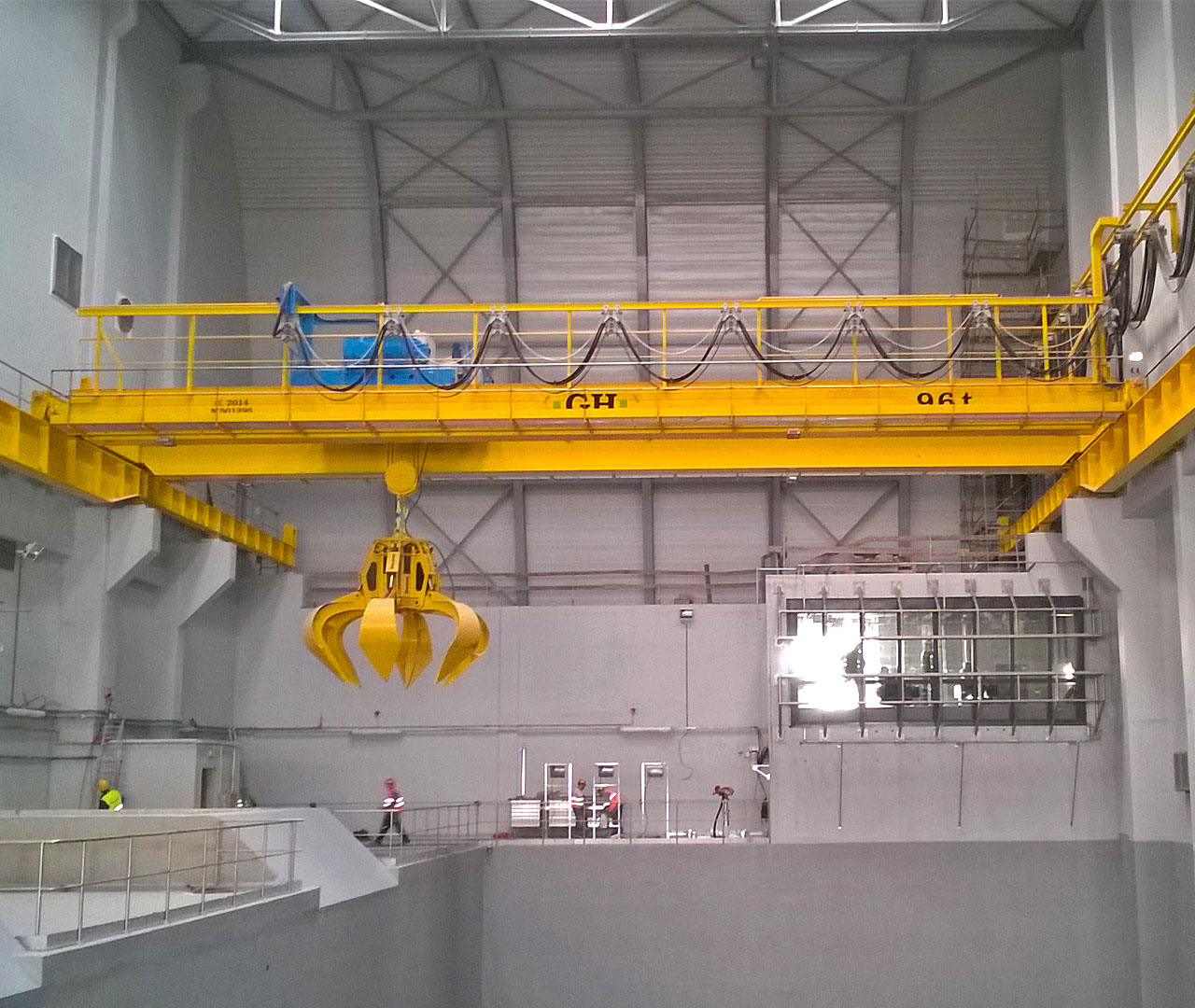 overhead cranes waste management