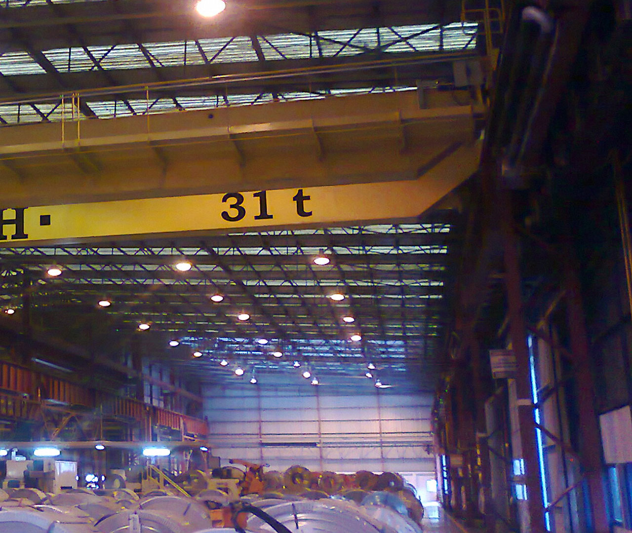 GH Cranes Steelworks