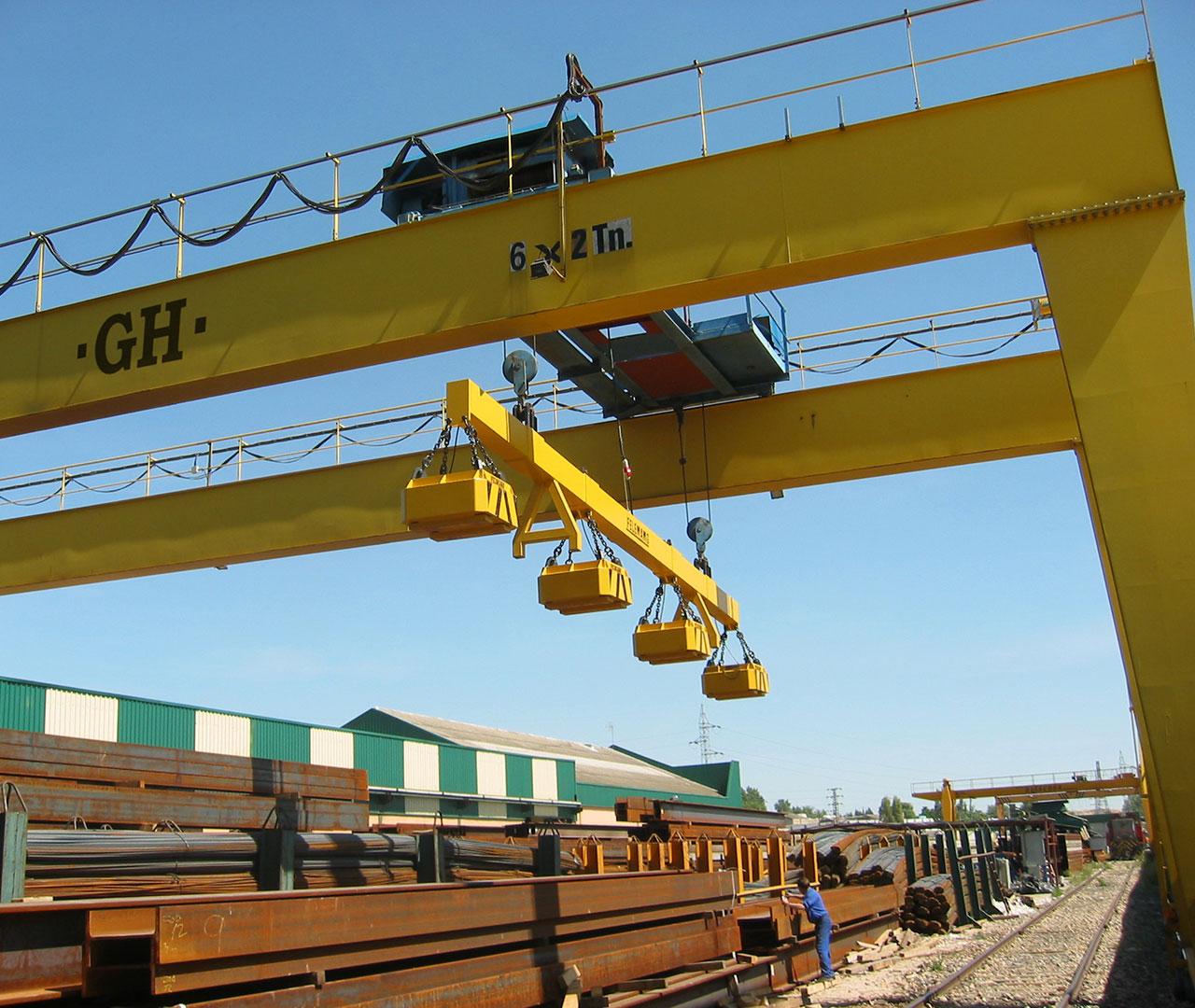 GH Gantry crane Steelworks