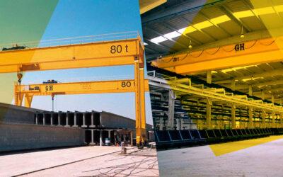 Precast Concrete Industry – 6 Key Considerations When Comparing Bridge Crane Manufacturers