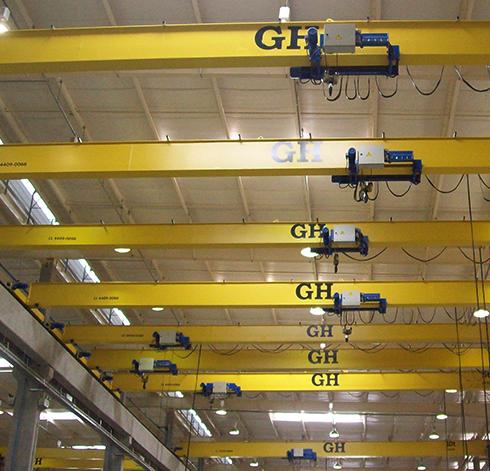 Single-Girder Overhead Cranes