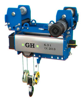 Normal headroom single girder hoists