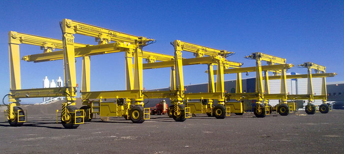Automotive gantry crane