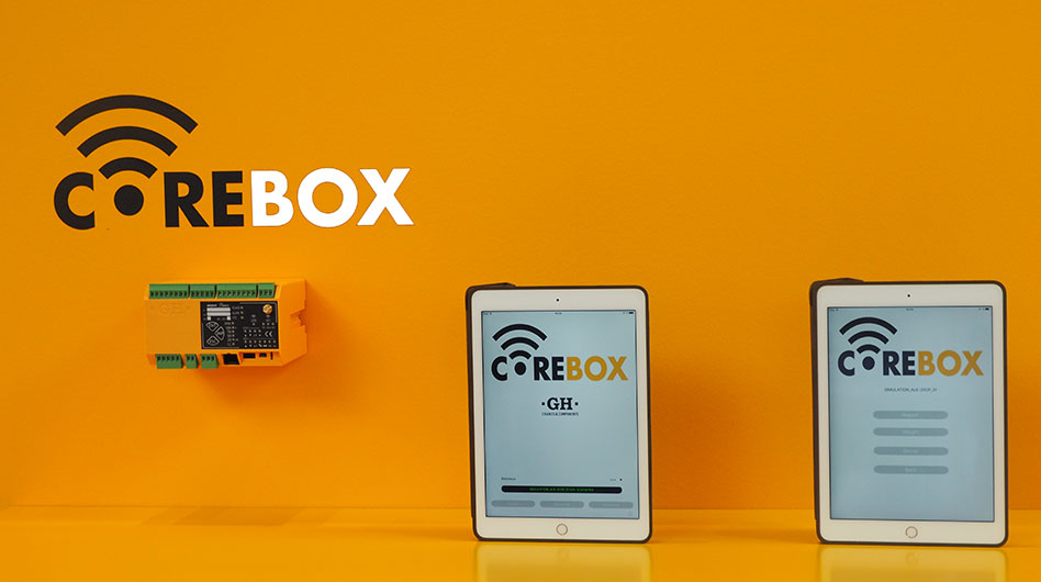 Corebox: Intelligent control unit