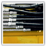 Hydraulic stainless steel piping