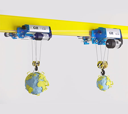 Crane and Hoist Manufacturer | GH Cranes & Components