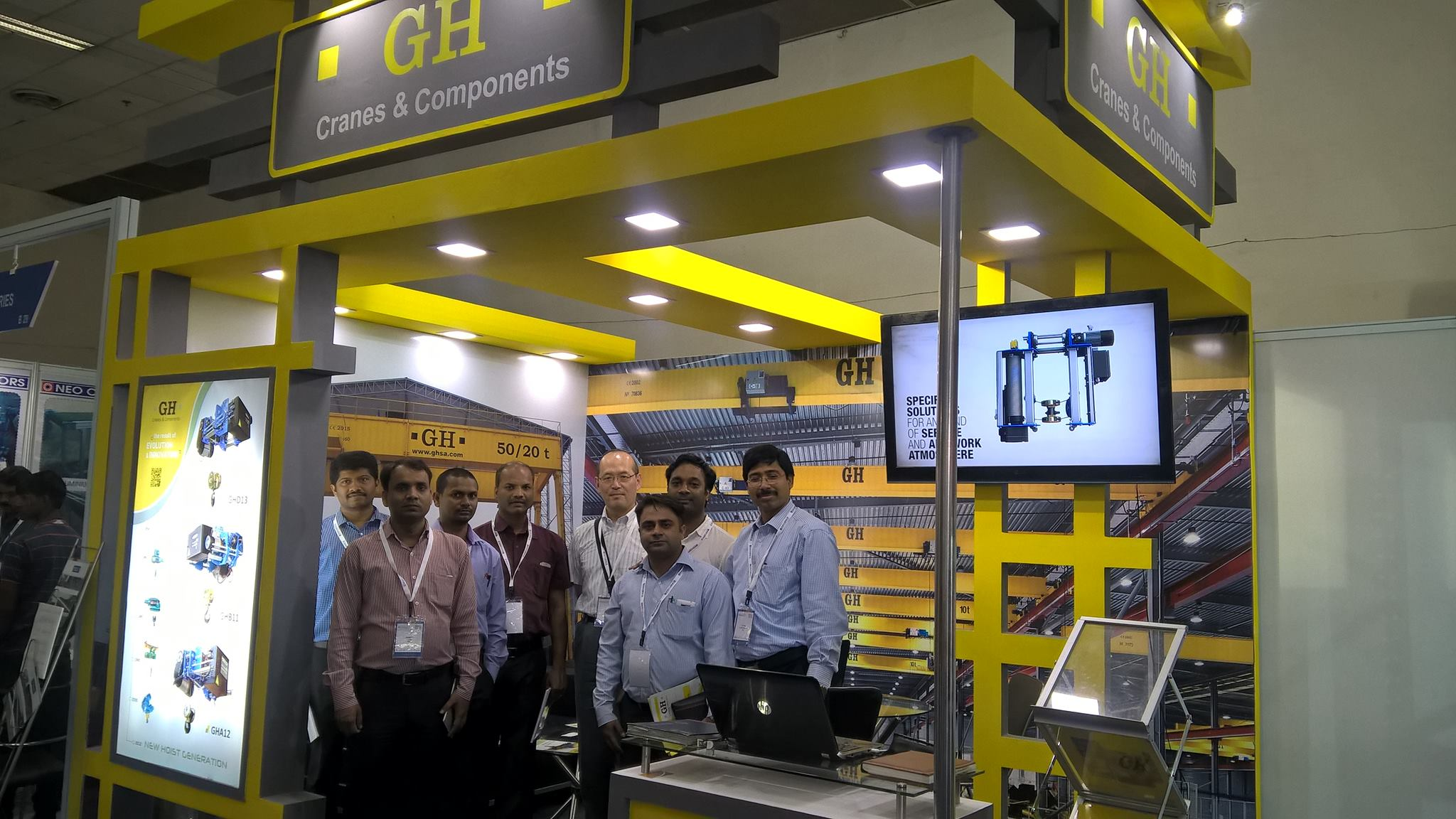 GH CRANES & COMPONENTS Cranes India is waiting for you at The IWS 2015