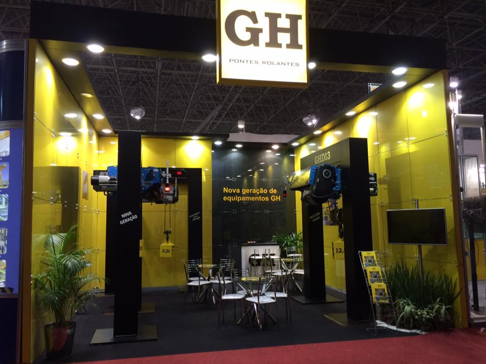 Mechanical International exhibition 2016 (Sao Paulo, Brazil)