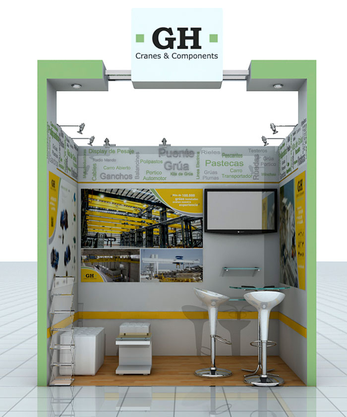 GH CRANES & COMPONENTS attend the Perumin Fair, 32nd mining convention