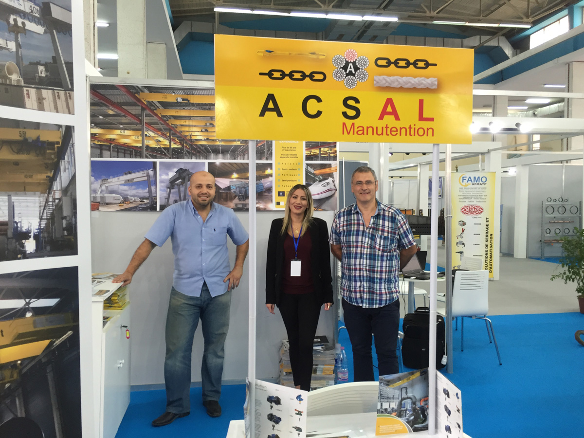 GH CRANES & COMPONENTS in Industry Exhibition 2015 in Algiers