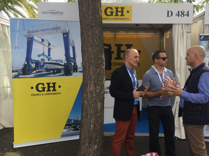 GH will be present at the Barcelona Boat Show