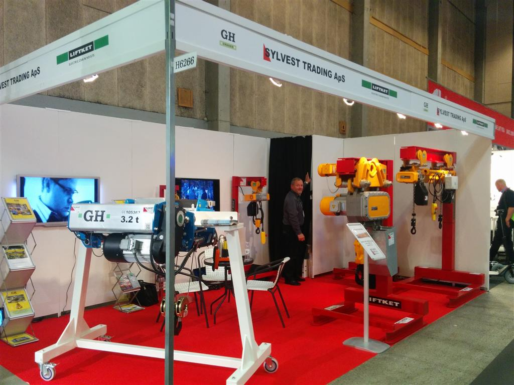 GH CRANES & COMPONENTS is going to participate in the Scandinavia's Technology and Industry Expo 2015 to be held in MCH