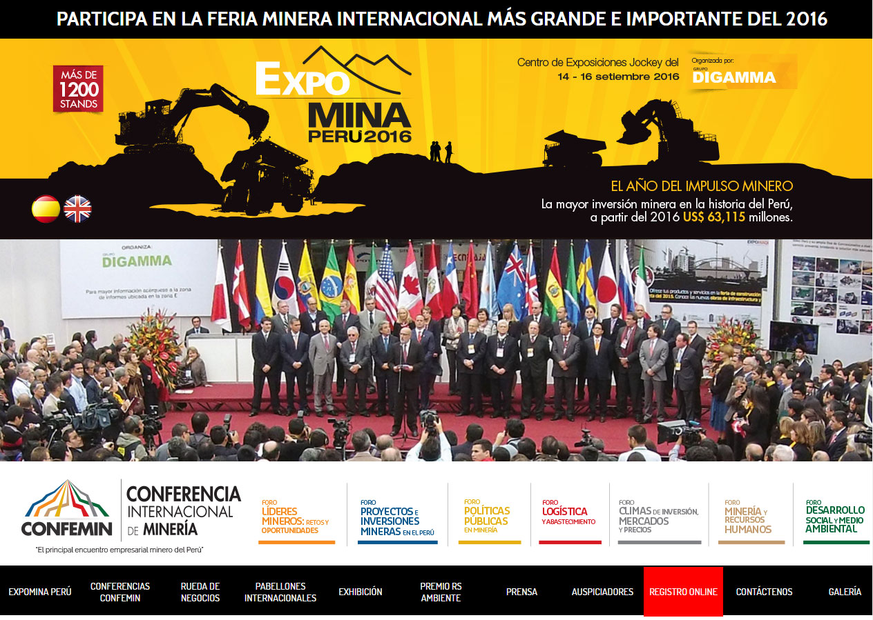 GH CRANES & COMPONENTS is going to participate in Expomina Perú, the largest Mining Fair in 2016