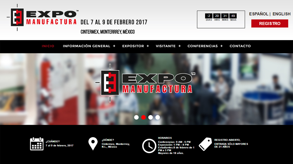 GH va participer au Salon Expo Manufactura 2017