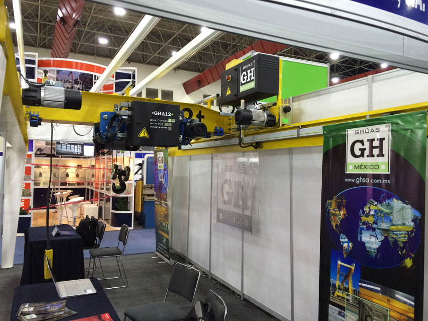 GH CRANES & COMPONENTS is going to attend Manufacturing Expo 2016, during 2-4 of February 2016