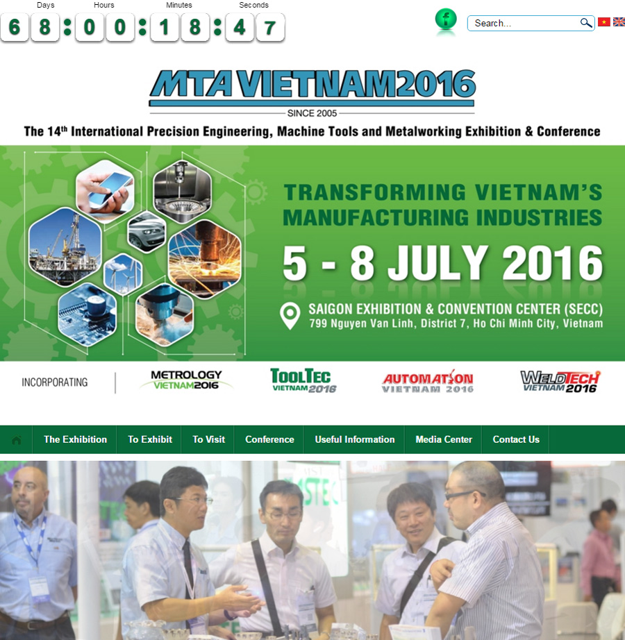 GH Cranes & Components at the exhibition of MTA Vietnam 2016