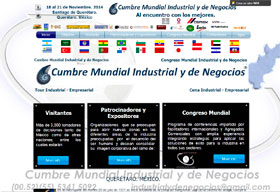 Global Industrial e Business Summit em Queretaro
