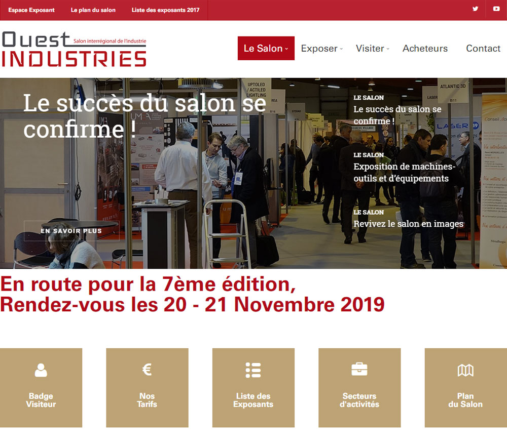 GH CRANES & COMPONENTS at the Ouest Industries 2019 fair
