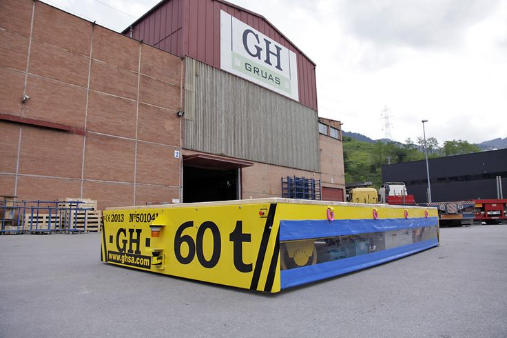 <br>60 tons of automotive transfer cart powered by battery, GH cranes and Components.