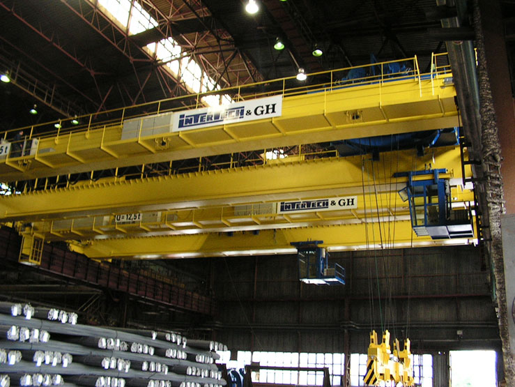 <br>EOT crane for Celsa Polonia with a 12.5t hoist.