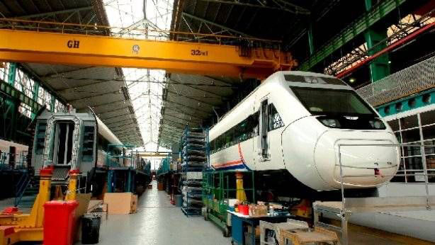 <br>Instalation of GH CRANES &amp; COMPONENTS in CAF. Railway sector.