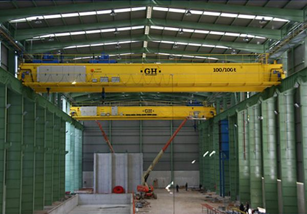 <br>Installation of 2 GH Cranes & Components of 100/100t. in the foundry sector.