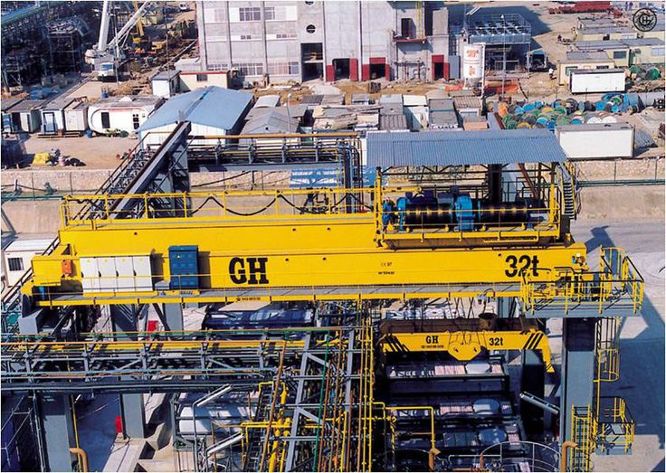<br>GH Cranes &amp; Components gantry crane for the application of containers manipulation.