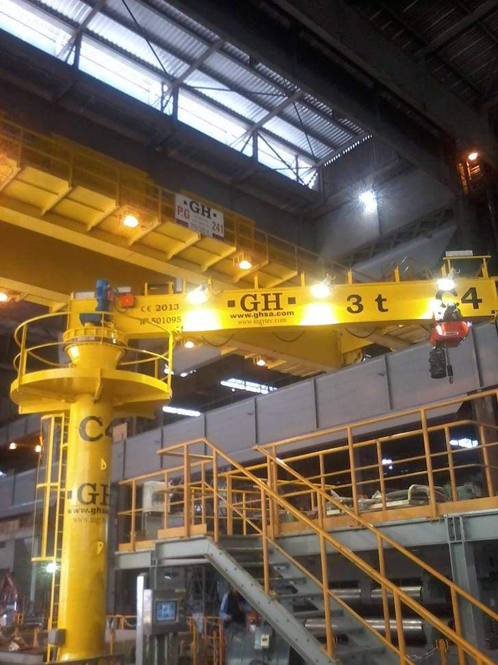 Overhead Cranes Nisku : Facilities gh crane and hoist manufacturer