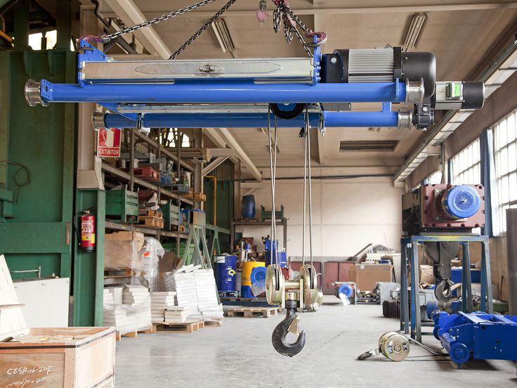 <br>New model of double girder GHB11, manufactured by GH Cranes and Components.