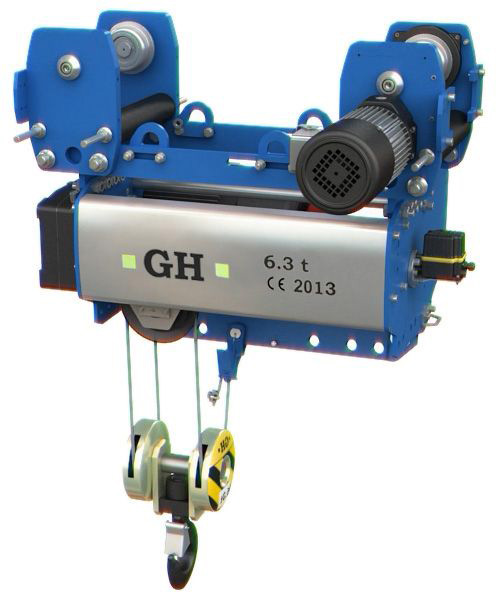 <br>New model of normal headroom single girder GHB11, manufactured by GH Cranes and Components.