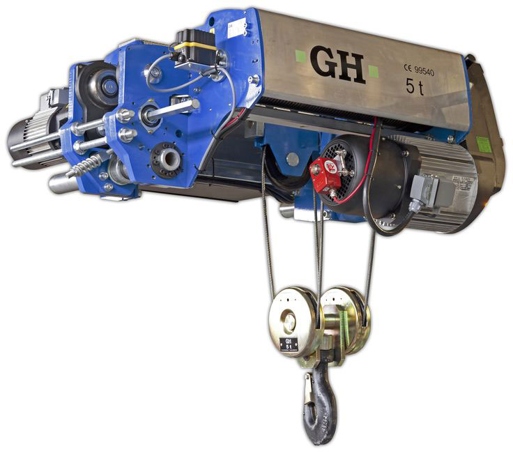 <br>New model of single girder low headroom GHB11, manufactured by GH Cranes and Components.