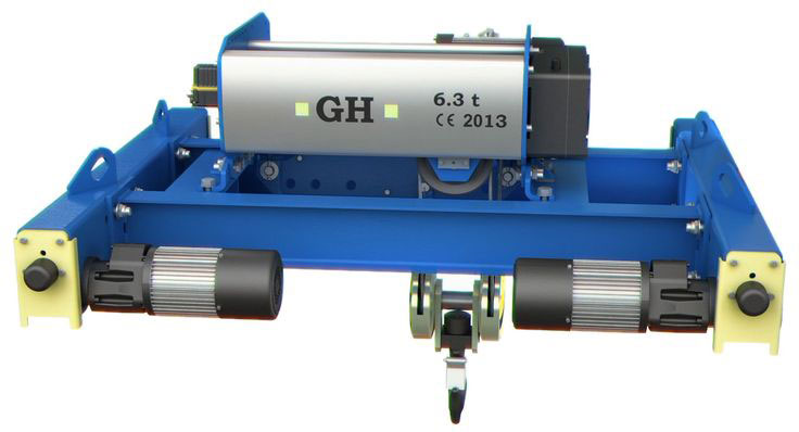New model of double girder GHB11, manufactured by GH Cranes and Components.