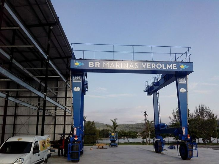 <br>Automotive goliath crane Marinas Verolme.