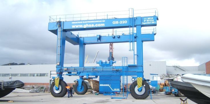 <br>Automotive portal crane, Vianapesca.