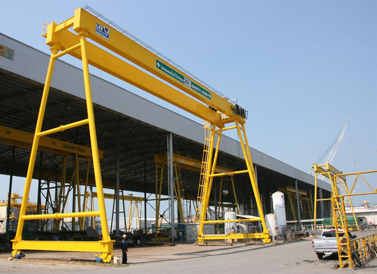 <br>Goliath crane with a 20t for Thailand.