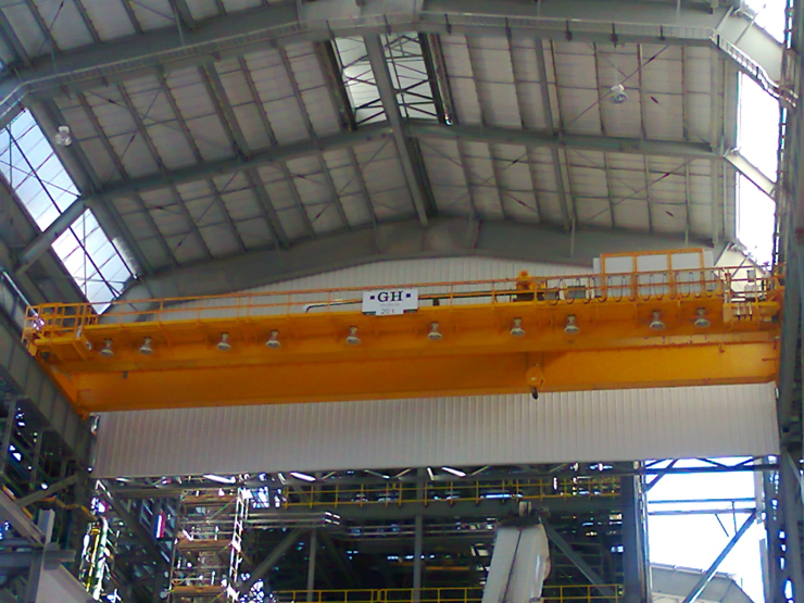 <br>EOT crane with hoist of 20t for Ternium customer in Mexico.